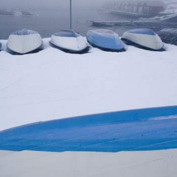 båtar i vintervila lahall JPL003942