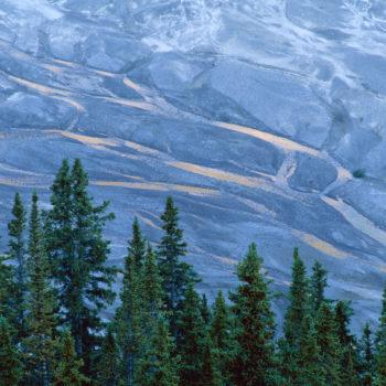 delta landskap klippiga bergen kanada av lahall JPL001752