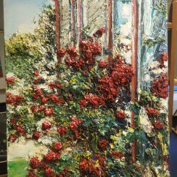 rosor i solnedgång kristina assarsson