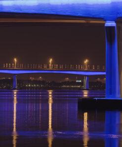 Broarna i Dubai.