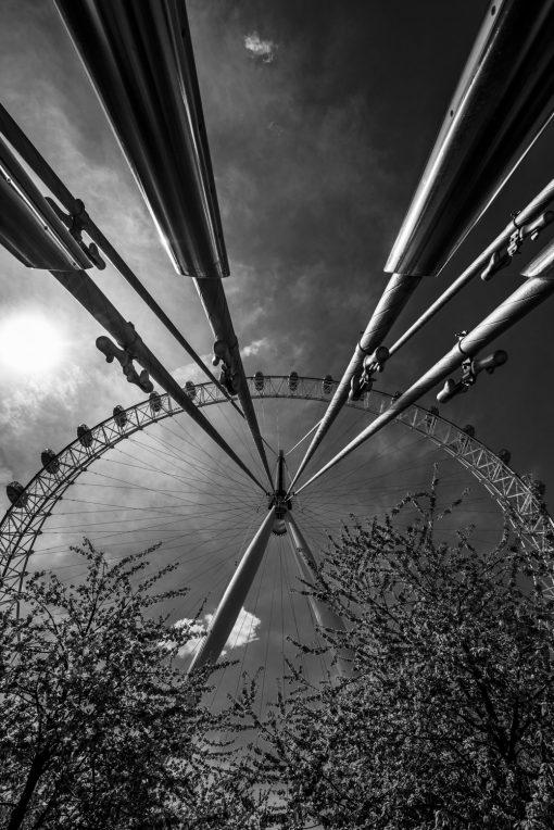 Fotokonst Jens C Hilner The Carousel London 2015