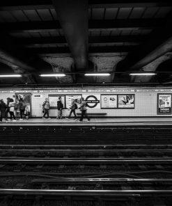 Fotokonst Jens C Hilner The Tube London