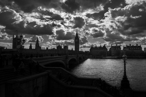 Fotokonst Jens C Hilner The War London