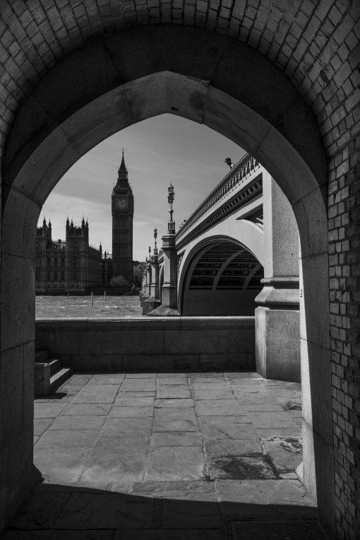 Fotokonst Jens C Hilner Walkway 2015 London